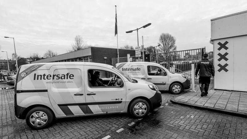 bewaking, beveiliging, overheid, gemeente, Amsterdam